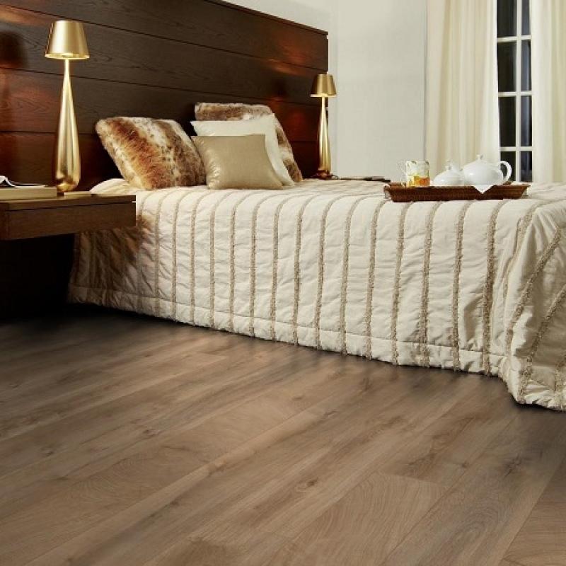 Фото в інтер'єрі в спальній - Дуб Фреско Лоджі K4381