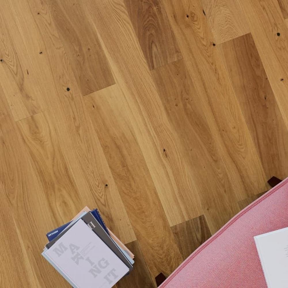 Фото Паркетна дошка в інтер'єрі 2 приклад - Дуб Жанну