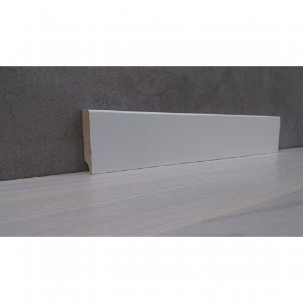 фото плінтуса лучіано білий М1