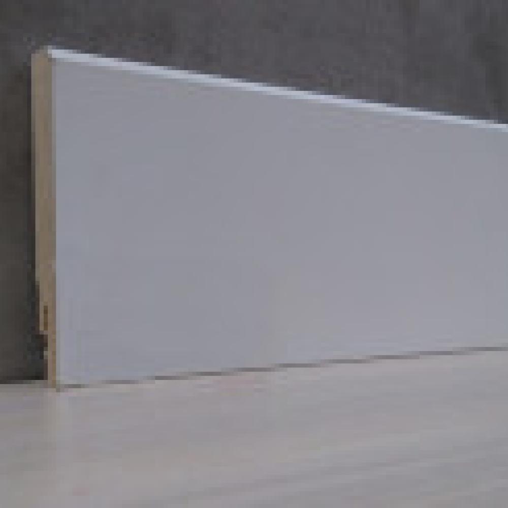 Фото плінтуса лучіано білий М1 50 мм