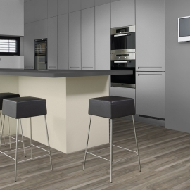 Фото в інтер'єрі на кухні - Горіх Авель K4414