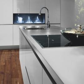 Фото в інтер'єрі на кухні приклад 2 - Хікорі Джорджія 34074