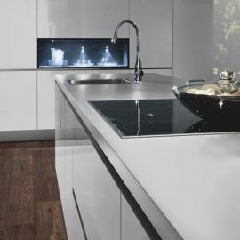 Фото в інтер'єрі на кухні приклад 2 - Хікорі Веллі 34029