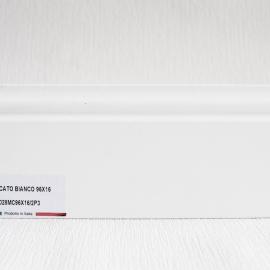 фото плінтуса лучіано білий Р3-1