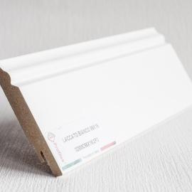 фото плінтуса лучіано білий Р3