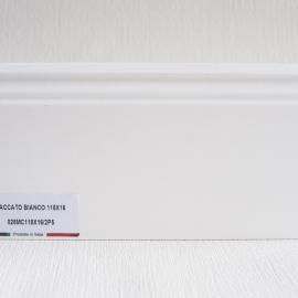 фото плінтуса лучіано білий Р5 118-1