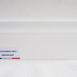 фото плінтуса лучіано білий Р8 108-1