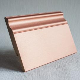 фото плінтуса лучіано алюміній P8 4