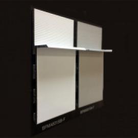 Фото плінтуса лучіано прихований монтаж гипс 95/16 ММ Білий RAL 9003