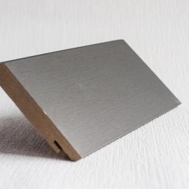 фото плінтуса лучіано алюміній М1 4